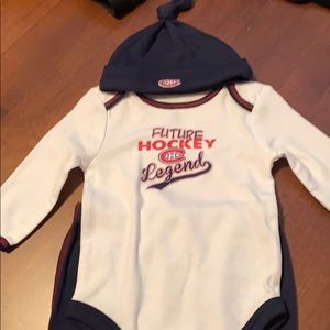 Montreal Canadians Baby Outfit